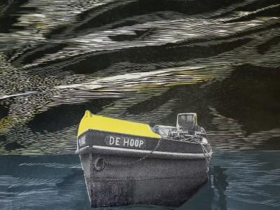 K1600_De Hoope, Siebdruck und Holzschnitt,61x61cm,2020